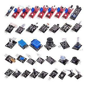 Kit Com 37 Sensores Para Arduino Sem Estojo