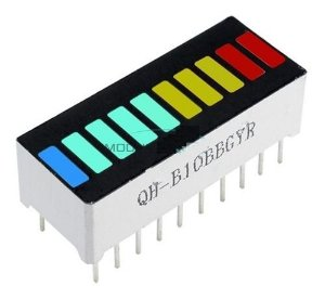 Módulo De Display Gráfico De Barras 10 Segmentos Arduino