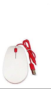 Mouse Oficial Para Raspberry Pi, Vermelha E Branca