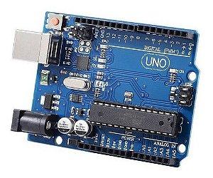 Placa Uno R3 Chip Mega328p Atmega16u2 Compativel