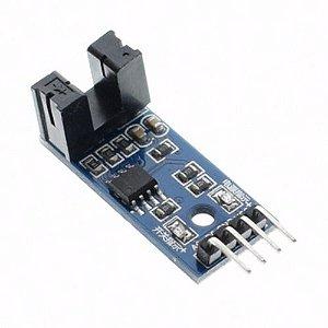 Módulo Sensor De Velocidade Infravermelho 4 Pin 5v 3,3v