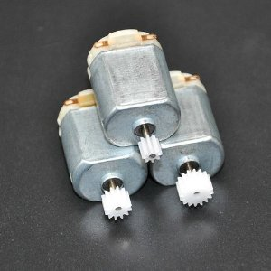 Kit 3 Motor Dc 3a 3-5v Com  3 kit de Engrenagens Arduíno
