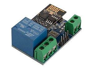 Módulo Relé Wi-fi Esp8266 Com Esp-01 Arduino