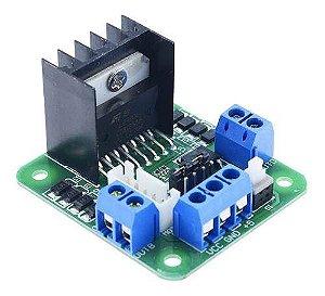 Modulo Ponte H L298n 2 Canais 2a Motor Dc L298 Arduino