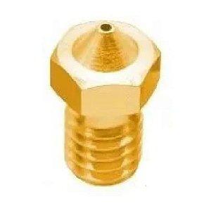 Bico Nozzle 1.75mm 0,8mm 6mm Impressora 3d V6 V5