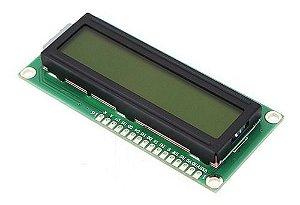 Display Lcd 16x2 1602 Fundo Verde Arduino