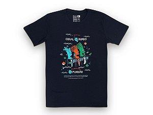 Camiseta Sustentável - Unissex Coral