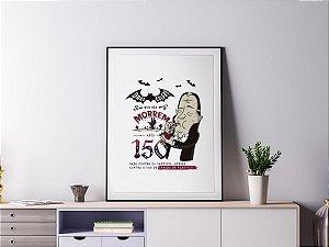 Poster Quadro Decorativo - Vampiro de Canudinho