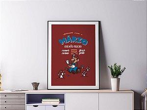 Poster Quadro Decorativo - Mário Vegano