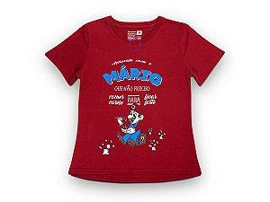 Camiseta Sustentável - Babylook Mario Vegano 01 (BAZAR)