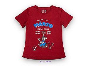 Camiseta Sustentável - Babylook Mario Vegano 02 (BAZAR)