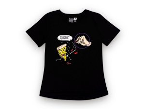 Camiseta Sustentável - Babylook Pizza Kill Bill 05 (BAZAR)