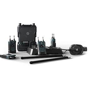 Hollyland Solidcom M1 Full-Duplex Wireless Intercom Solution (4 Beltpacks)