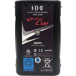 IDX CUE-D300 286Wh High-Capacity/Load Li-Ion Battery (V-Mount)