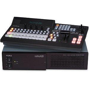 For.A HVS-100 HD/SD switcher com painel de controle HVS-100OU