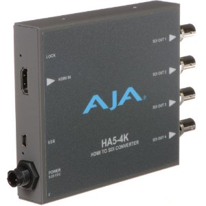 AJA HA5-4K HDMI to SDI Mini-Converter