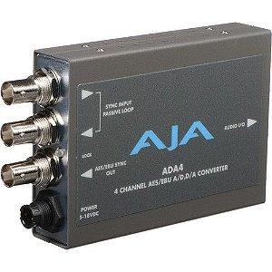 ADA4 Conversor Bidirecional de Áudio A/D e D/A de 4 canais