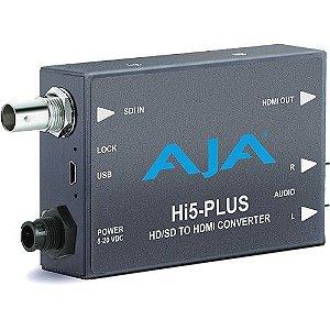 Mini-conversor AJA Hi5-Plus 3G-SDI para HDMI