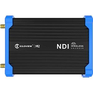 Codificador de vídeo Kiloview N2 HDMI para NDI com bateria
