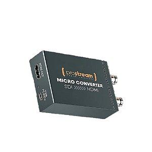 Prostream Micro Conversor Converter GO SDI Para HDMI