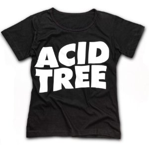 CAMISETA ACID TREE BABYLOOK LOGO