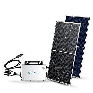 Energia solar - Gerador fotovoltaico - Gera Até 590Wh/Mês-Hoymiles 3,96kwp- 12 módulos 330w  (instalado)