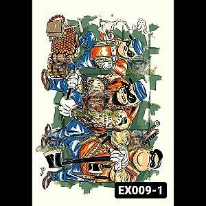 PELÍCULA EXCLUSIVA - EX009 - Tamanho A4