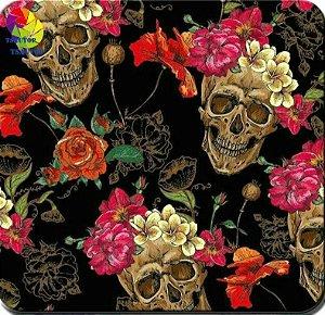 Caveira Mexicana com Rosas
