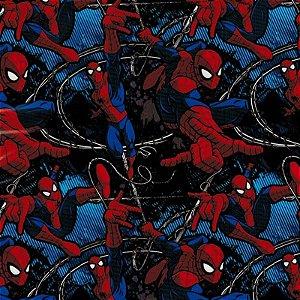 Homem aranha NOVO - Tamanho 1M X 50CM - Pintura Hidrografica WTP