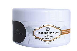 Máscara Capilar com Óleo de Coco e Manteiga de Karité- 250g