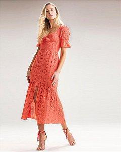 Vestido Lianarah Laise Coral Raizz