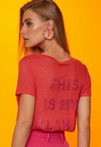 "T-shirt ""This is My Plan B"" Garnus"