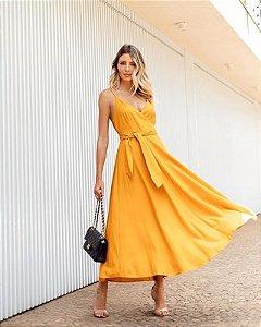 Vestido Midi Alcinha Esmeral