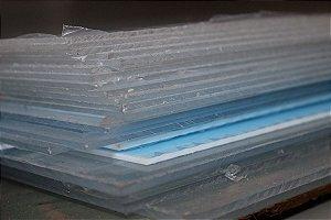 Chapa de Acrílico Cristal 3mm
