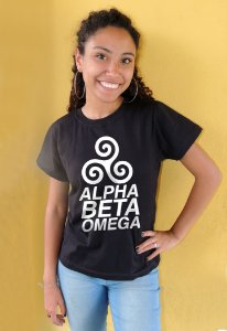 Camiseta Alpha Beta Omega Teen Wolf