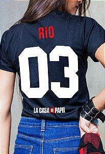 Camiseta Rio La Casa de Papel