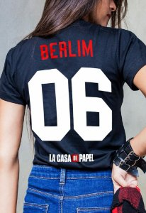 Camiseta Berlim La Casa de Papel