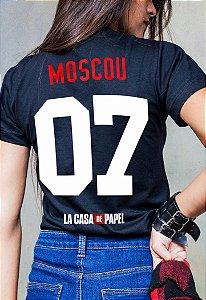 Camiseta Moscou La Casa de Papel