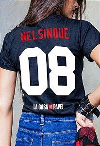 Camiseta Helsinque La Casa de Papel