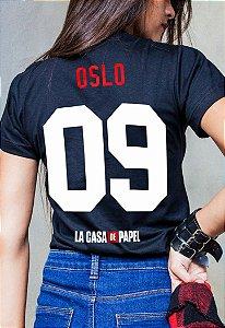 Camiseta Oslo La Casa de Papel