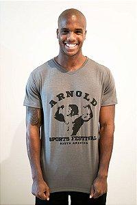 Camiseta Man Basic Arnold Sports Festival Chumbo Classic