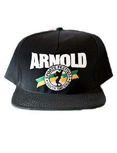 Boné Arnold Aba Reta Preto