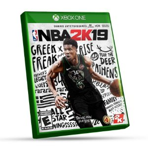 NBA 2K19 - XBOX ONE - CÓDIGO 25 DÍGITOS