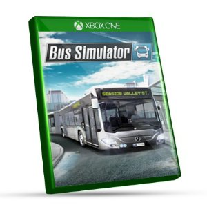 Bus Simulator  - Xbox One - Mídia Digital e Código 25 Dígitos