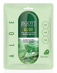 Máscara Facial Hidratante Jigott Aloe Real Ampoule Mask -  SISI