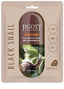 Máscara Facial Anti-idade muco de caracol Preto  Jigott Black Snail - SISI