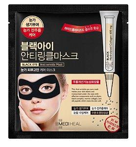 Máscara Facial Antissinais para região dos olhos - Mediheal Black Eye