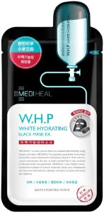 Máscara Facial Clareadora SISI - Mediheal W.H.P White Hydrating Black Mask