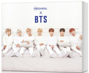 KIT BTS X MEDIHEAL Moisturizing Care Special ( Teatree + DNA )
