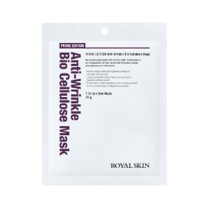 Máscara Facial Anti-Idade  Bio Celulose - Royal Skin Prime Edition Anti-Wrinkle